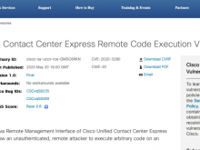 Cisco Unified Contact Center Express反序列化代码执行